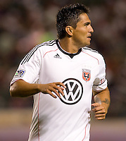 DC United forward Jaime Moreno. CD Chivas USA beat DC United 1-0 at Home Depot Center stadium in Carson, California on Sunday August 29, 2010.