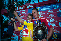 Cloudbreak, Fiji. Damien Hobgood (USA) took out the 2004 Quiksilver Pro Fiji defeating Andy Irons (HAW) in the final. Photo: joliphotos.com