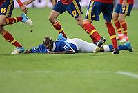 Fussball EURO 2012 Finale: Spanien - Italien
