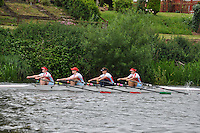 Monmouth Regatta 2011, May 29..W.IM3.4x-.(126) Wallingford RC.(127) Hartpury College RA
