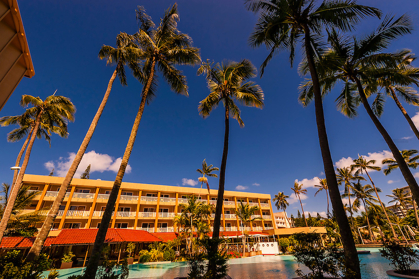 Swimming pool, Nouvata Park Hotel, Noumea, Grand Terre, New Caledonia