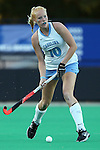 17 October 2014: North Carolina's Nina Notman (GER). The Duke University Blue Devils hosted the University of North Carolina Tar Heels at Jack Katz Stadium in Durham, North Carolina in a 2014 NCAA Division I Field Hockey match. UNC won the game 1-0.