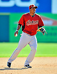 7 March 2011: Houston Astros' infielder Jimmy Paredes in action during a Spring Training game against the Washington Nationals at Space Coast Stadium in Viera, Florida. The Nationals defeated the Astros 14-9 in Grapefruit League action. Mandatory Credit: Ed Wolfstein Photo
