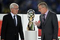 FUSSBALL   1. BUNDESLIGA   SAISON 2011/2012   SUPERCUP FC Schalke 04 - Borussia Dortmund            23.07.2011 Reinhard RAUBALL (li) und Holger HIERONYMUS (re)