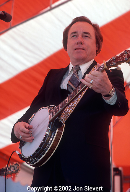 Earl Scruggs, May 10, 1980, Stanford Bluegrass Festival