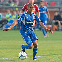 July 3, 2013: Montreal Impact defender Matteo Ferrari #13 in action during an MLS game between Toronto FC and Montreal Impact at BMO Field in Toronto, Ontario Canada.<br /> The game ended in a 3-3 draw.