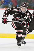 Matt Lorito (Brown - 19) - The visiting Brown University Bears defeated the Harvard University Crimson 2-0 on Saturday, February 22, 2014 at the Bright-Landry Hockey Center in Cambridge, Massachusetts.