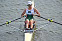 Atsumi Fukumoto (JPN), SEPTEMBER 17, 2011 - Rowing : The 89th All Japan Rowing Championships during the Race Semi-final of Women's Single Sculls at the Toda Olympic Rowing Course, Saitama, Japan. (Photo by Jun Tsukida/AFLO SPORT) [0003]