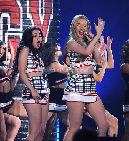 LAS VEGAS, NV - MAY 18: 5 Iggy Azalea performs on the 2014 Billboard Music Awards at the MGM Grand Garden Arena on Sunday, May 18, 2014 in Las Vegas, Nevada.PGMicelotta/MediaPunch