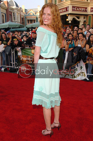 Rebecca Mader<br />at the premiere of Disney's &quot;Pirates of the Caribbean: Dead Man's Chest&quot;. Disneyland, Anaheim, CA. 06-24-06<br />Scott Kirkland/DailyCeleb.com 818-249-4998