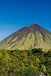 The colorful volcano Mount Inerie, Bajawa, Flores, Indonesia