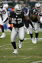 KIRK MORRISON, of the Oakland Raiders  in action during the Raiders game against the  Denver Broncos on December 2, 2007 in Oakland, California...RAIDERS  win 34-20..SportPics