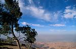 Jordan, a view of the Jordan Valley from Nabi Yusha&amp;#xA;<br />