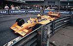 Ayrton Senna in the Lotus 99T, Detroit 1987