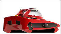 BNPS.co.uk (01202 558833)<br /> Pic: U-BoatWorx/BNPS<br /> <br /> The ultimate accessory for your super yacht...A James Bond style two seater submarine runabout for undersea adventures - Although with a manufacturer called U-Boat Worx it might be more suitable for a Bond villan.<br /> <br /> The Dutch company have come up with the &pound;1million design that can cruise at 3 kts for 6 hours at depths of 100 metres and can recharge in only 4 hours.
