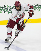 Jake Horton (Harvard - 19) - The Harvard University Crimson defeated the visiting Boston College Eagles 5-2 on Friday, November 18, 2016, at the Bright-Landry Hockey Center in Boston, Massachusetts.