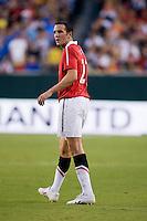 John O'Shea. Manchester United defeated Philadelphia Union, 1-0.