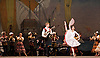 Don Quixote <br /> The Mariinsky Ballet <br /> at The Royal Opera House, London, Great Britain <br /> 2nd August 2011 <br /> <br /> presented by Victor Hochhauser<br /> <br /> Yevgenia Obraztsova (as Kitri)<br /> Andrei Timofeev (as Basil)<br /> <br /> Photograph by Elliott Franks