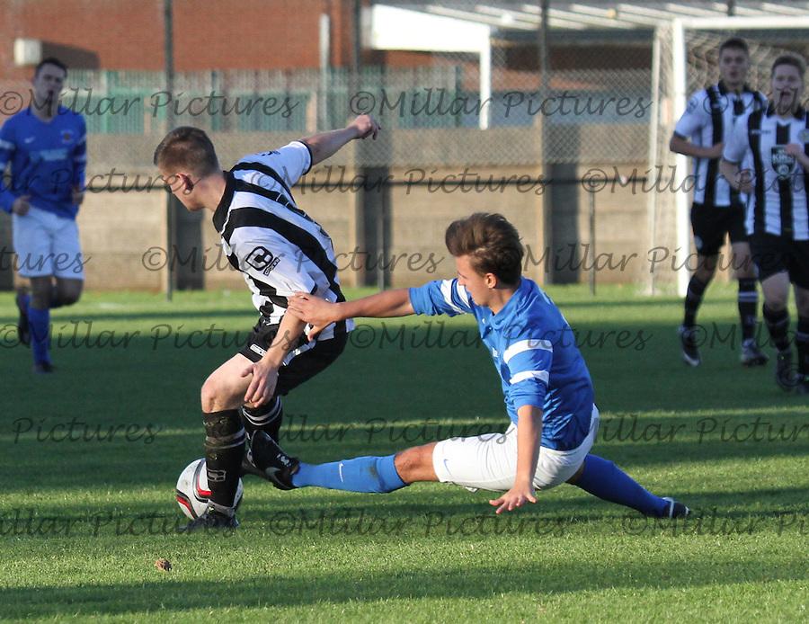 Preston Athletic v St Mirren Little Bog Shot Youth Cup 011115