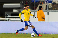 Kaka (8) of Brazil. Brazil (BRA) and Colombia (COL) played to a 1-1 tie during international friendly at MetLife Stadium in East Rutherford, NJ, on November 14, 2012.