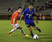 The number 24 ranked Furman Paladins took on the number 20 ranked Clemson Tigers in an inter-conference game at Clemson's Riggs Field.  Furman defeated Clemson 2-1.  Tony Santibanez (2), Manolo Sanchez (8)