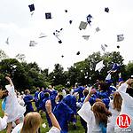 Washington, CT-26, June 2010-062610CM08 Shepaug graduates celebrate following commencement ceremonies Saturday afternoon in Washington.  --Christopher Massa Republican-American