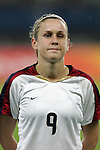 15 August 2008: Heather O'Reilly (USA).  The women's Olympic team of the United States defeated the women's Olympic soccer team of Canada 2-1 after extra time at Shanghai Stadium in Shanghai, China in a Quarterfinal match in the Women's Olympic Football competition.