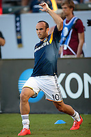 Carson, California - Sunday, October 19, 2014: The LA Galaxy and Seattle Sounders FC played to a 2-2 tie in a Major League Soccer (MLS) match at StubHub Center stadium.