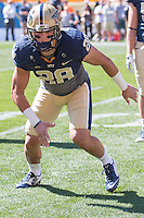 Pitt linebacker Anthony Gonzalez. The Akron Zips Defeated the Pitt Panthers 21-10 at Heinz Field, Pittsburgh. Pennsylvania on September 27, 2014.