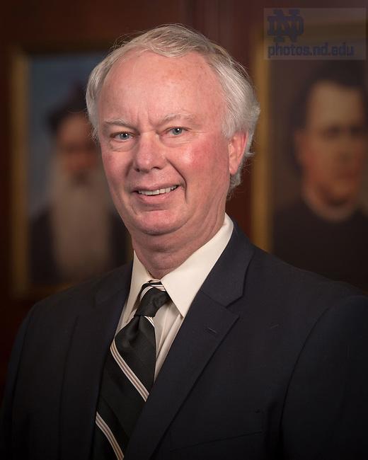 April 12, 2017; Edward Conlon, Emeritus faculty portrait (Photo by Matt Cashore/University of Notre Dame)