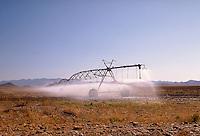 Irrigation unit watering field on SR 191 near Elfrida, AZ. Elfrida Arizona USA SR 191.