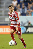 Bobby Warshaw FC Dallas in action... Sporting KC defeated FC Dallas 2-1 at LIVESTRONG Sporting Park, Kansas City, Kansas.