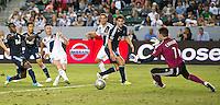 CARSON, CA - June 23, 2012: LA Galaxy forward Robbie Keane (7)during the LA Galaxy vs Vancouver Whitecaps FC match at the Home Depot Center in Carson, California. Final score LA Galaxy 3, Vancouver Whitecaps FC 0.