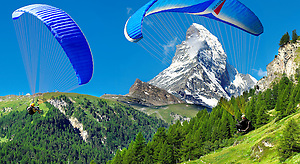 Photo of The Matterhorn Swiss Alps