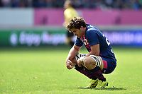Jono Ross of Stade Francais looks on. European Rugby Challenge Cup Semi Final, between Stade Francais and Bath Rugby on April 23, 2017 at the Stade Jean-Bouin in Paris, France. Photo by: Patrick Khachfe / Onside Images