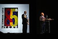 Schomburg's Center 85th Anniversary Gala Program held at Aaron Davis Hall in Harlem, NYC