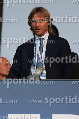 06.06.2015, Olympia Stadion, Berlin, GER, UEFA CL, Juventus Turin vs FC Barcelona, Finale, im Bild Sportdirektor Pavel Nedved (Juventus Turin) // during the UEFA Champions League final match between Juventus FC and Barcelona FC at the Olympia Stadion in Berlin, Germany on 2015/06/06. EXPA Pictures &copy; 2015, PhotoCredit: EXPA/ Eibner-Pressefoto/ Schueler - Pressefoto<br /> <br /> *****ATTENTION - OUT of GER*****
