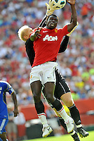 Mame Biram Diouf.Jimmy Nielsen (gk)..Kansas City Wizards defeated Manchester United 2-1 in an international friendly at Arrowhead Stadium, Kansas City, Missouri.
