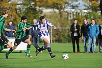 VOETBAL: LEMMER: 25-10-2015, vv Lemmer-vv Heerenveen, uitslag 0-3, ©foto Martin de Jong