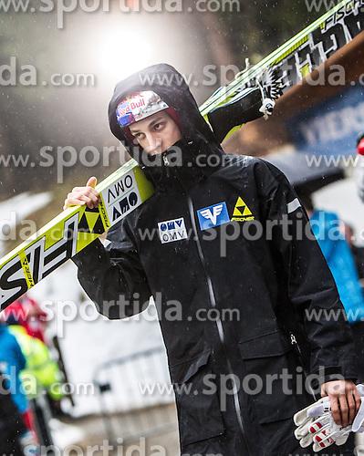 06.01.2013, Paul Ausserleitner Schanze, Bischofshofen, AUT, FIS Ski Sprung Weltcup, 61. Vierschanzentournee, Training, im Bild Severin Freund (GER) // Severin Freund of Germany during practice Jump of 61th Four Hills Tournament of FIS Ski Jumping World Cup at the Paul Ausserleitner Schanze, Bischofshofen, Austria on 2013/01/06. EXPA Pictures © 2012, PhotoCredit: EXPA/ Juergen Feichter