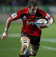 Crusaders' captain Richie McCaw in action against the Chiefs in a Super Rugby match, Waikato Stadium, Hamilton, New Zealand, Friday, July 06, 2012.  Credit:SNPA / David Rowland
