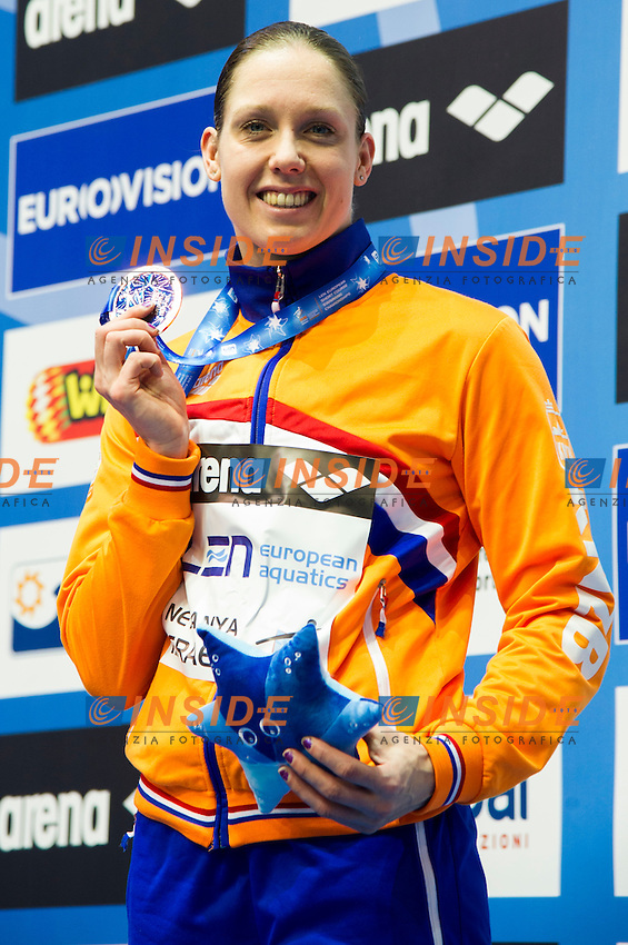 NIJHUIS Moniek NED Silver Medal<br />