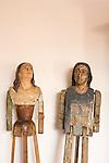 Mannequin of saints, Cartagena de Indias, Bolivar Department,, Colombia, South America.
