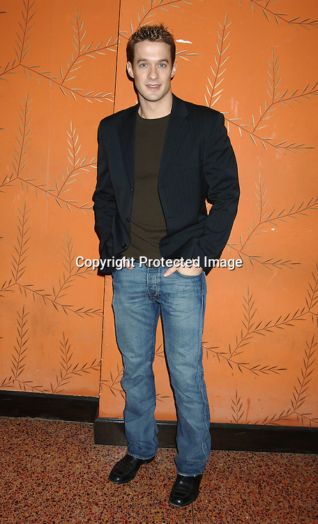 Matthew  Metzer ..at the One Life To Live Christmas Party at LQ on     December 12, 2005. ..Photo by Robin Platzer, Twin Images