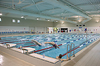 Rosenblatt Swimming Pool, Oxford University, Atkins