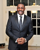 Actor Idris Elba arrives for the Official Dinner in honor of Prime Minister David Cameron of Great Britain and his wife, Samantha, at the White House in Washington, D.C. on Tuesday, March 14, 2012..Credit: Ron Sachs / CNP.(RESTRICTION: NO New York or New Jersey Newspapers or newspapers within a 75 mile radius of New York City)