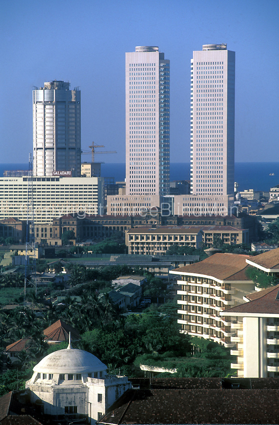 Colombo Sri Lanka Skyline
