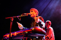 AUG 25 Francois and The Atlas Mountains performing at David Byrne's Meltdown Festival
