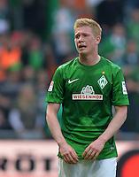 FUSSBALL   1. BUNDESLIGA   SAISON 2012/2013    32. SPIELTAG SV Werder Bremen - TSG 1899 Hoffenheim             04.05.2013 Kevin De Bruyne (SV Werder Bremen) ist nach dem Tor zum 2:2 tief enttaeuscht