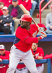 7 March 2015: Washington Nationals outfielder Tony Gwynn in Spring Training action against the St. Louis Cardinals at Space Coast Stadium in Viera, Florida. The Nationals rallied to defeat the Cardinals 6-5 in Grapefruit League play. Mandatory Credit: Ed Wolfstein Photo *** RAW (NEF) Image File Available ***